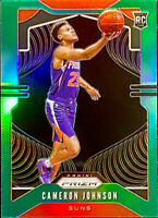 🔥 2019-20 Panini Prizm Cameron Johnson Green Refractor Prizms CENTERED! Suns