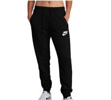 Nwt Nike Rally Jogger Pants Womens Sweatpants Black Just Do It Band Xs Xl