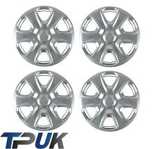 "FORD FIESTA MK7 SET OF 4 15"" INCH WHEEL TRIM HUB CAP COVER 2008 ON CLIPS RING"