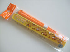 San-X Rilakkuma Kawaii Chopsticks & Case/Made in Japan