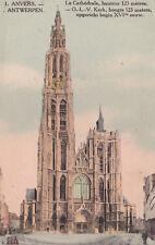 AK Antwerpen gel. 1918 Anvers Kathedrale Kirche