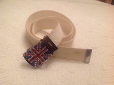 Cintura Inglese Union Jack Bandiera Britannica fibbia regolabile 3 cm 1 M 39 pollici