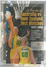 A DECADE OF AUSTRALIA VS NEW ZEALAND TEST MATCHES BRAND NEW SEALED NETBALL