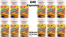 Stacker2 Weight Loss+ 2X Energy Herbal 20/Bottle (Lot 12) = 240 Capsules 08/2021