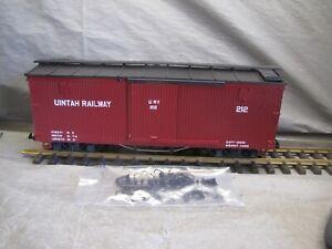 LGB G Scale Uintah Railway Boxcar #4067 WC