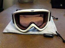 Smith Optics Cylindrical Series Snocross Snowmobile Goggles White