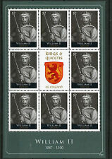 Grenada 2011 MNH Kings & Queens of England William II 8v M/S Royalty Stamps