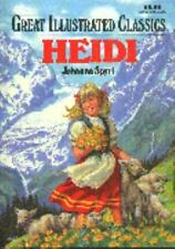 Heidi Great Illustrated Classicsby Hardcover Brand New