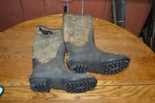 ITASCA Scent Free Rubber Camo Swampwalker Hunting Boots Size 10