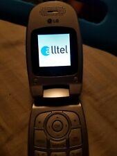 Lg Ax145 - Silver (Alltel) Cellular Phone