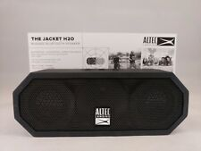 Altec Lansing -The Jacket H20 - Rugged Bluetooth Speaker - Black
