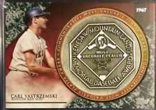 2017 Topps Commemorative Most Valuable Player Award CARL YASTRZEMSKI