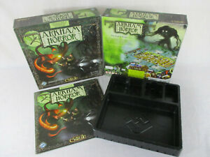 Arkham Horror 2nd Edition GAME BOX INSTRUCTIONS & TRAY Fantasy Flight Games!!