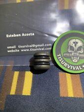 Ti Survival Anodized Titanium Lanyard Bead Pull