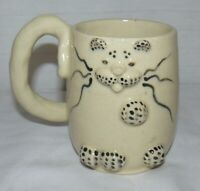 CATWARE BY LISA 10 oz CERAMIC POTTERY CAT MUG CUP HANDMADE HANDCRAFTED KITTY