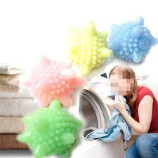 2Pcs Cleaning Washing Machine Clothes Softener Useful Laundry Ball For Home ZON
