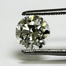 GIA certified loose round 1.33ct VVS2 I diamond 7.10-7.18x4.25mm vintage estate