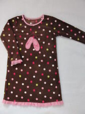 NWT Girls Carters Fleece Nightgown Pajamas Ballet 2 2T