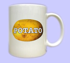POTATO Mug. Printed gift mugs, joke fun tribute to Keith Lemon & Celebrity Juice