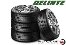 4 X New Delinte Thunder D7 205/50ZR17 93W Ultra High Performance Tires 205/50/17