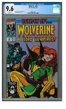 What If... #24 (1991) Wolverine Lord of the Vampires CGC 9.6 LK870