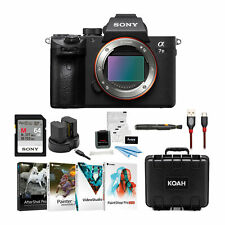 Sony a7 III Full Frame Mirrorless Interchangeable Lens Camera Essentials Kit