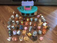 Fisher Price Little People Ark + 49 Individual Animal Figures