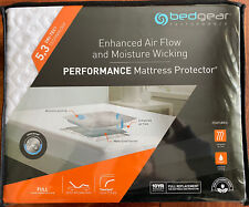 5.3 Ver-Tex BedGear Performance Mattress Protector - NEW - Full - FREE SHIP