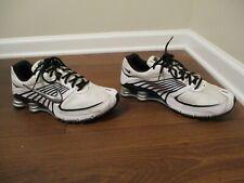 Classic 2008 Used Worn Size 12 Nike Shox Turbo 8 Shoes White Black Silver