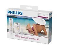 PHILIPS HP6540 Satinelle Ladies Epilator PLUS Precision Epilator KIT £90 rrp NEW