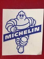 "GASOLINE LUBESTER DECAL OIL CAN GAS PUMP STICKER 4"" MICHELIN MAN"