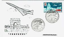 FDC-SPERSONIC CONCORDE-AIR FRANCE-PREMIER VOL-LE BOURGET-05/06/1969