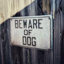 Farmtruck and Azn - Street Outlaws - Beware of Dog Metal Sign