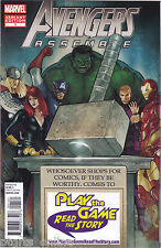 Avengers Assemble #1 Play The Game Read The Story Retailer  Variant Cover NM