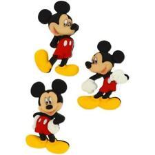 Disney-Mickey-Dress It Up Brillo Botones-Artesanía 6 piezas