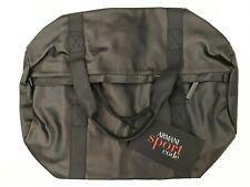 Armani Sport Code Luxury Men's Black Duffle Gym Travel Bag New