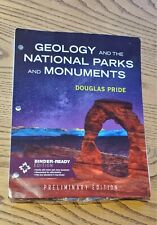 GEOLOGY OF NATIONAL PARKS LOOSE-LEAF (Preliminary Edition) Like New Used