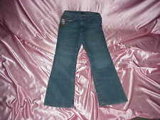 NWT Women's $59 TENNESSEE Titans NFL cheerleader boot JEANS 8 30/32  x  31