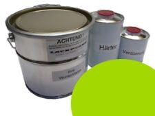 1 Litre Kit 2K VERNIS voiture vitesses vert pas de peinture transparente