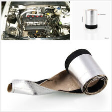 Aluminum Car Metallic Heat Shield Thermal Sleeve Insulated Wire Hose Cover