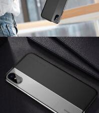 Fundas y carcasas Para iPhone X color principal negro de silicona/goma para teléfonos móviles y PDAs