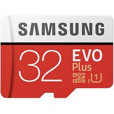Samsung 32GB Evo Plus Micro SD SDXC TF Memory Card + Adapter 95MB/s New UK