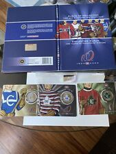 Montreal Canadiens Collector Album And 3 Coins, See Pictures