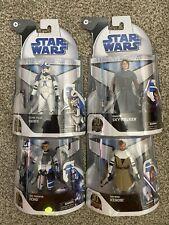 Star Wars Black Series- Clone Wars Lot (Target Exclusives)