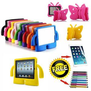 Kids Shockproof iPad Case Cover EVA Foam Stand For Apple iPad/iPad Mini
