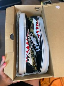 Mens vans size 13, pre owned with box, in good condition
