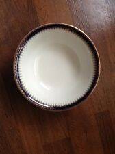 Signed  Meakin Bleu De Roi Royal Magesty 18K solid gold china serving bowl