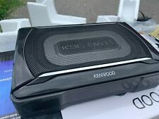New listing Kenwood Ksc-Sw11 150W Compact Powered Subwoofer w/ Bass Remote (Read Desc)