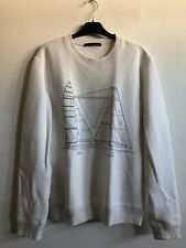 LOUIS VUITTON americas cup 2017 white pullover jumper size XL