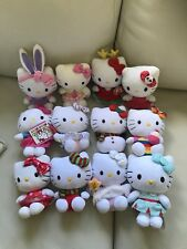 Sanrio Hello Kitty Large Lot Of 12 Minis Ty And More
